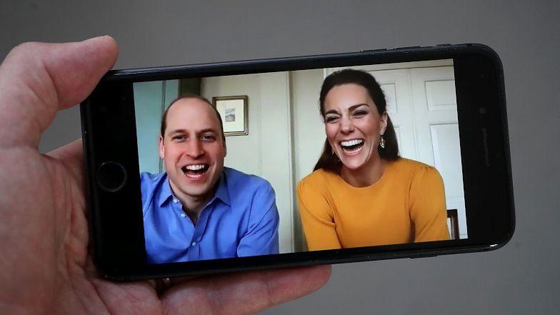 """Książę William i księżna Kate dzwonią do brytyjskich szkół z wielkanocnymi życzeniami: """"Radzicie sobie fantastycznie"""""""