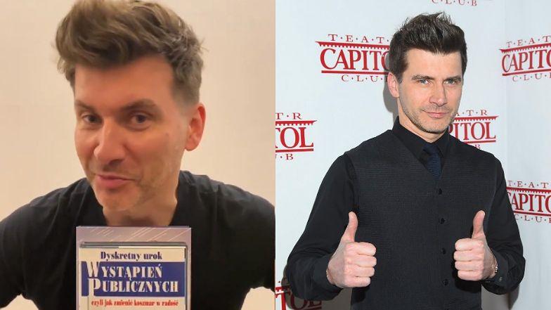 Tomek Kammel grozi, że napisze CZWARTĄ książkę. Na razie nie wie, o czym...