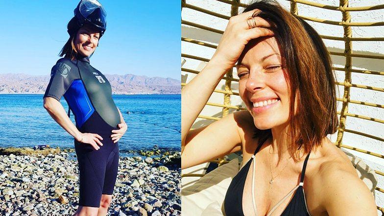 """""""Crazy mom"""" Kasia Glinka zachęca do aktywności w ciąży: """"Ograniczenia są tylko w NASZYCH GŁOWACH"""""""