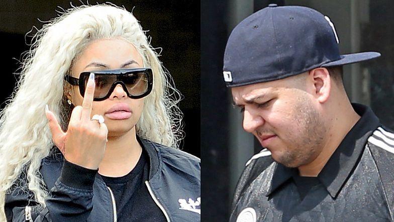 Blac Chyna złożyła wniosek o ODDALENIE oskarżeń Roba Kardashiana! Jednak nie dusiła go ładowarką do telefonu?