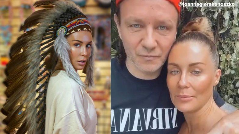 """Małgorzata Rozenek i Radosław Majdan obiecują, że już nie założą pióropuszy: """"Cieszymy się, że można rozmawiać bez chamstwa"""""""