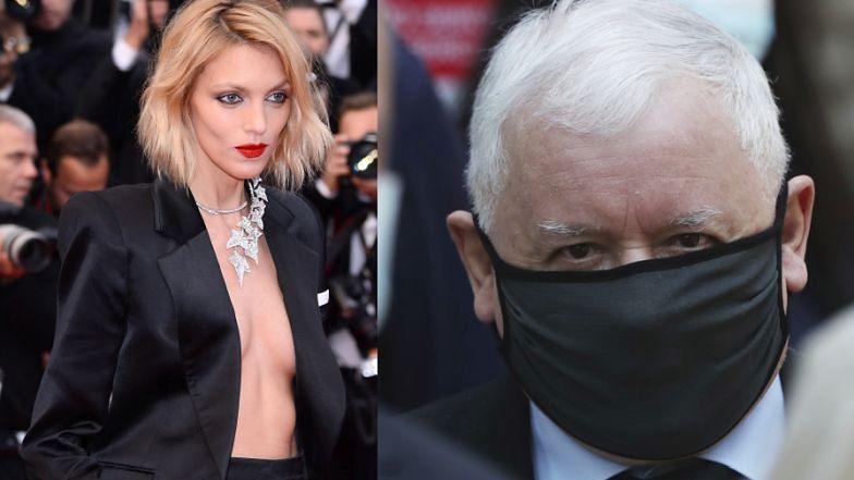 """Anja Rubik uderza w Kaczyńskiego: """"Proszę o szacunek dla osób wierzących!"""""""