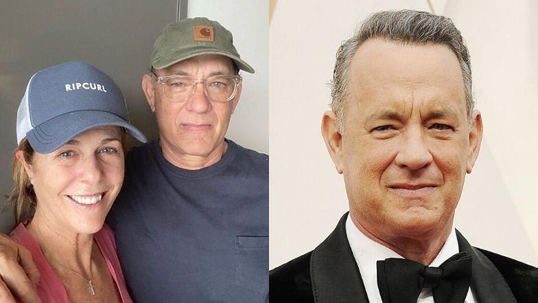 """Zakażeni Tom Hanks wraz z małżonką informują o swoim stanie: """"Dobrze się nami opiekują. Jesteśmy W IZOLACJI, żeby nikogo nie zarazić"""""""
