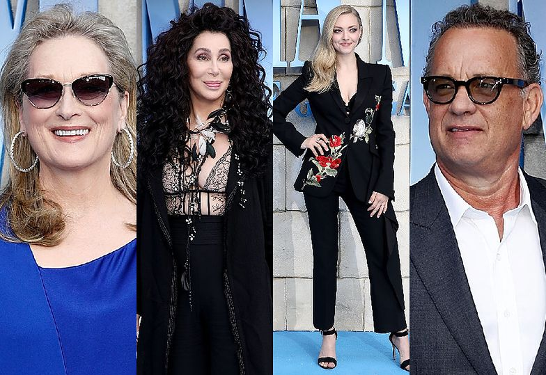 Meryl Streep, Cher, Amanda Seyfried i Tom Hanks