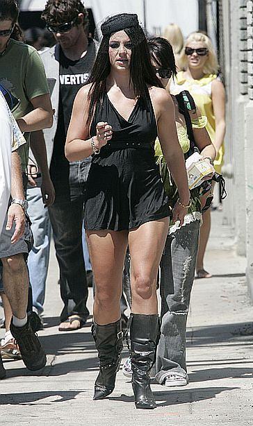 Britney kręci nowy teledysk!