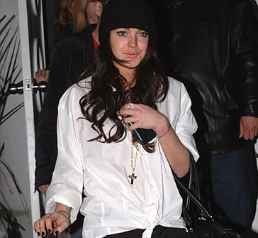 Lindsay Lohan w klubie AA