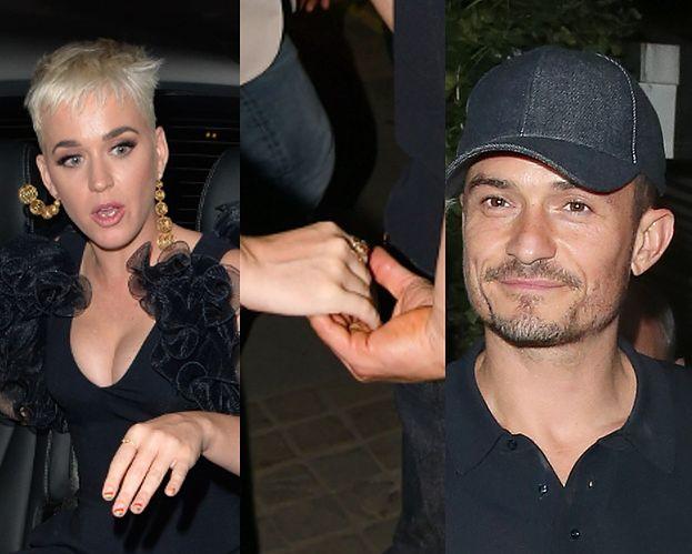 Katy Perry i Orlando Bloom TRZYMAJĄC SIĘ ZA RĘCE wracają z randki (FOTO)
