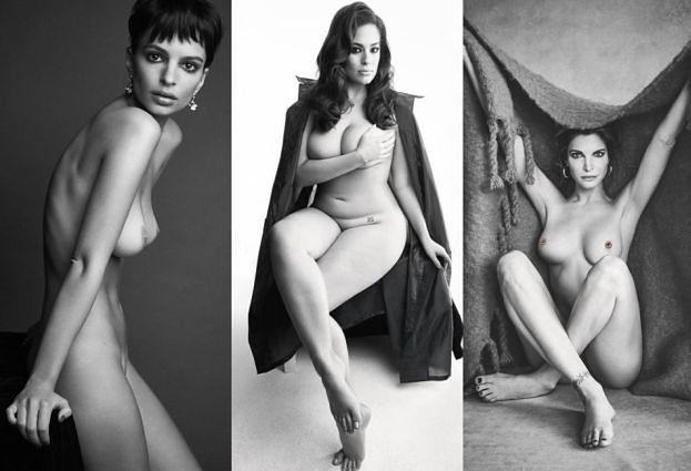 """Emily Ratajkowski, Ashley Graham i 49-letnia Stephanie Seymour pozują NAGO dla """"Love"""" (ZDJĘCIA)"""