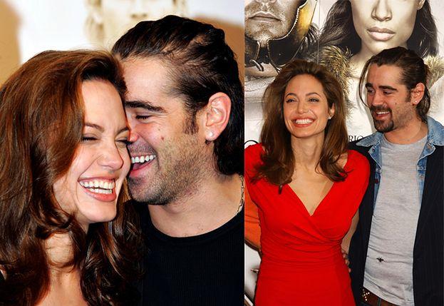 """Romans Angeliny Jolie i Colina Farrella kwitnie? """"Zawsze była nim zafascynowana"""""""