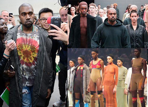 """Kanye West oskarżony o rasizm! Na casting do pokazu zaprosił tylko... """"multirasowe modelki"""""""