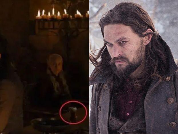 """Wpadka w """"Grze o tron"""". Na biesiadnym stole ktoś postawił... kubek z kawą z sieciówki (FOTO)"""