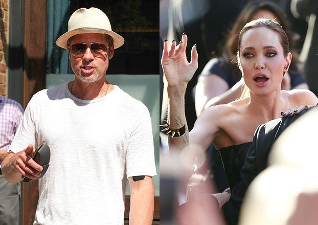"""Jolie oskarża Pitta o nadużywanie alkoholu i marihuany! """"Brad jest wściekły. Rozpętała piekło!"""""""