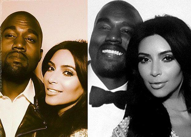 Ślub Kim i Kanye Westa na Instagramie... (ZDJĘCIA)