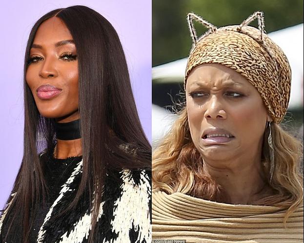 """Tyra Banks wspomina konflikt z Naomi Campbell: """"Wracałam do domu z płaczem, ponieważ ona robiła wszystko, żebym odeszła"""""""