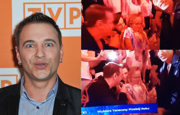 """TYLKO NA PUDELKU. Radek Liszewski zaśpiewał do małej dziewczynki: """"umiesz kręcić pupą"""". Teraz się tłumaczy"""