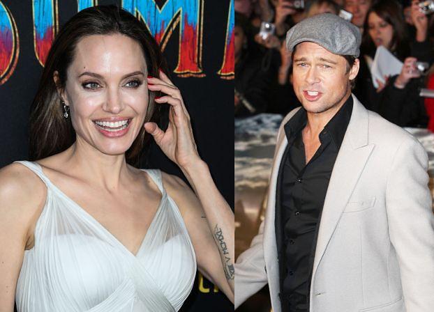 """Brad Pitt ma dość wojny z Jolie o dzieci. """"Marzy, by uwolnić się od tej wariatki"""""""