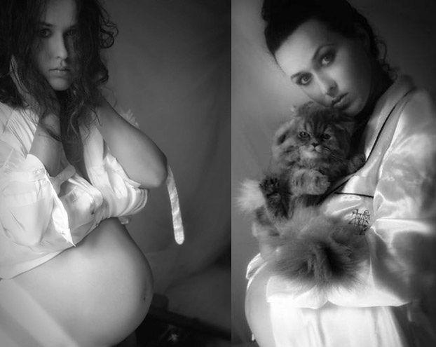 Sara May pozuje w ciąży... (FOTO)