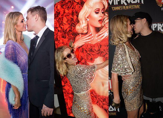 Paris Hilton obściskuje się z narzeczonym na imprezach dwie noce Z RZĘDU!