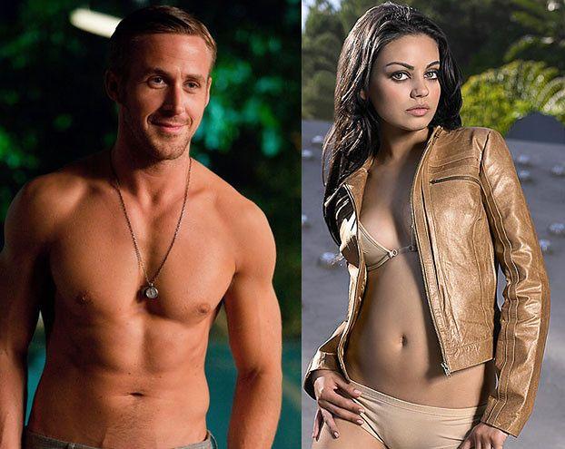 Fani marzą o seksie z Goslingiem i Kunis!