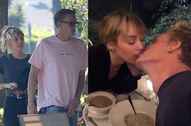 Miley Cyrus i Cody Simpson wymieniają pocałunki o smaku zupy (FOTO)