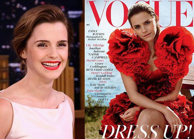 """Emma Watson ogłasza na łamach """"Vogue'a"""": """"Jestem SZCZĘŚLIWĄ SINGIELKĄ"""""""