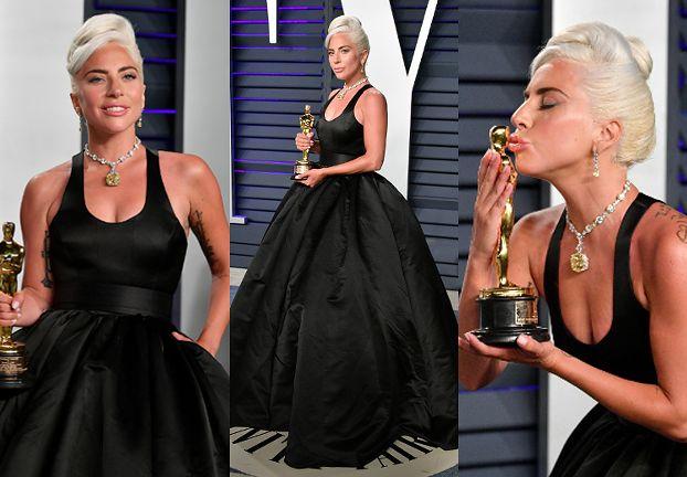 Lady Gaga miała na sobie najdroższy naszyjnik w historii Oscarów
