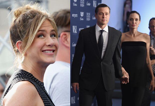"""""""Jennifer uważa, że Brada i Angelinę dopadła karma"""""""