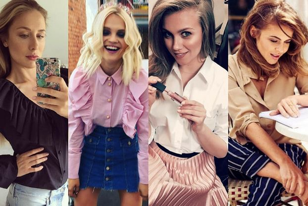 Stylizacje z damskimi koszulami - 5 propozycji