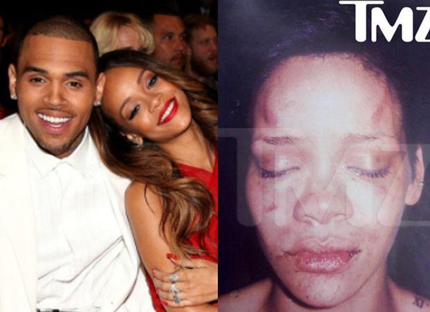 """Chris Brown ujawnia szczegóły pobicia Rihanny: """"Uderzyłem ją zaciśniętą pięścią, a ona PLUŁA WE MNIE KRWIĄ"""""""
