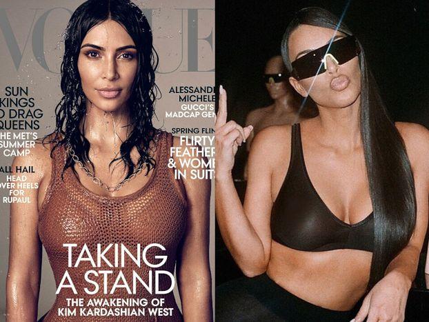 """Kim Kardashian dostała SOLOWĄ okładkę amerykańskiego """"Vogue'a""""! """"To spełnienie moich marzeń"""""""