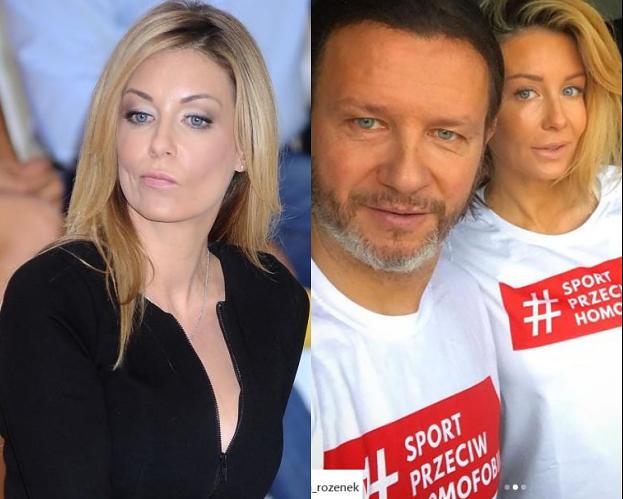 """Rozenek-Majdan ostro odpowiada internaucie: """"Wy****dalać możesz ty, z tego profilu!"""""""