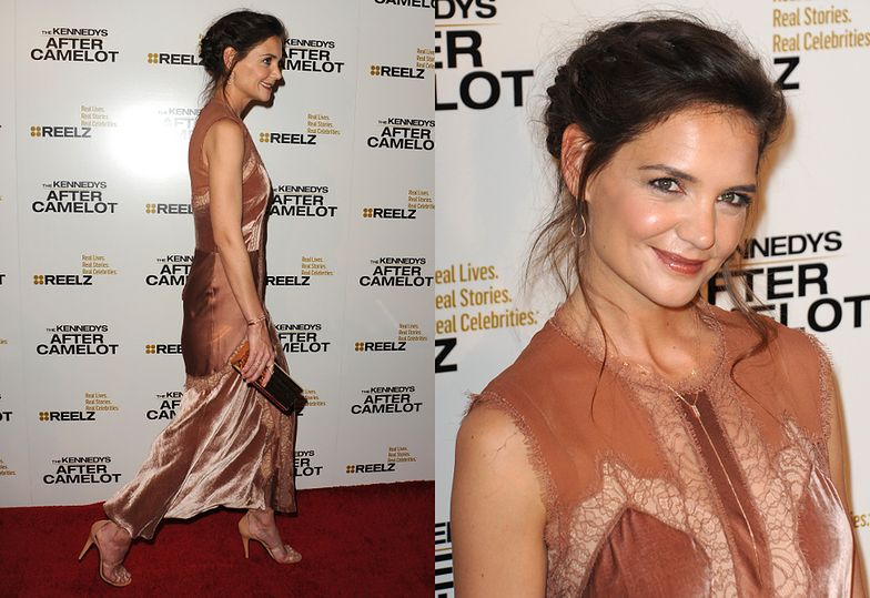 """Katie Holmes na premierze """"The Kennedys: After Camelot"""""""