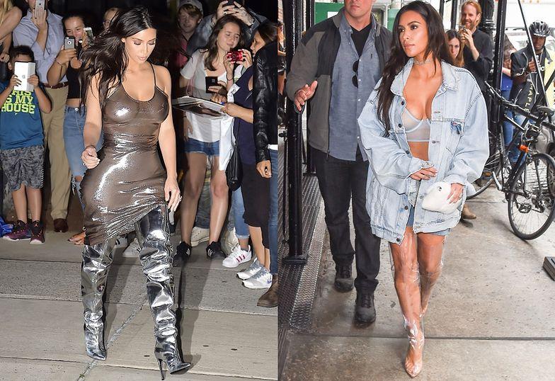 Kim Kardashian w Nowym Jorku