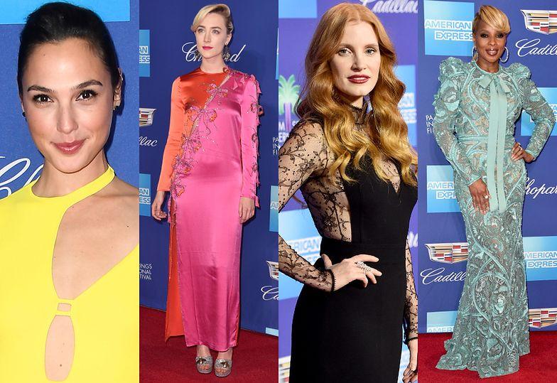 Gal Gadot, Saoirse Ronan, Jessica Chastain i Mary J. Blige