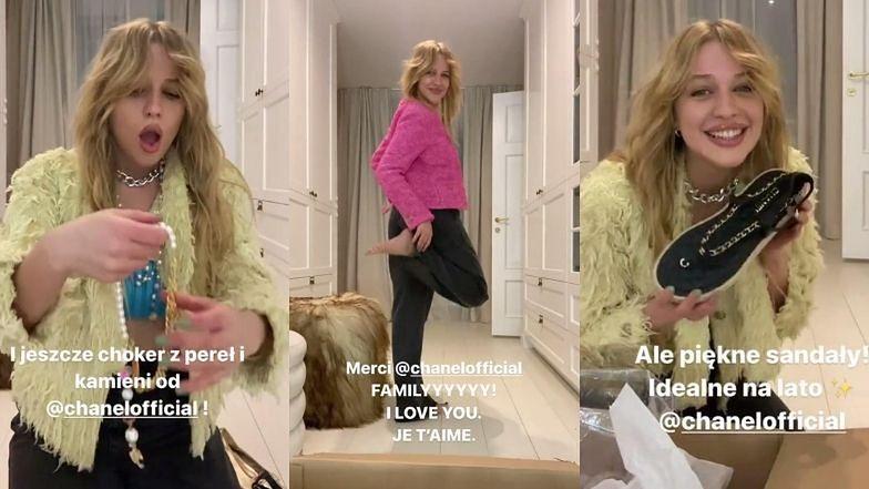 """PODJARANA Jessica Mercedes piszczy i tańczy na widok paczki od Chanel: """"AAA, NIE MOGĘ ODDYCHAĆ. O Jezu! O Boże!"""""""