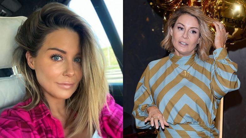 """Małgorzata Rozenek pochwaliła się nową fryzurą. Fanka przestrzega: """"Zaraz będą pisać, że zostawiła dziecko i pojechała do fryzjera"""" (ZDJĘCIA)"""