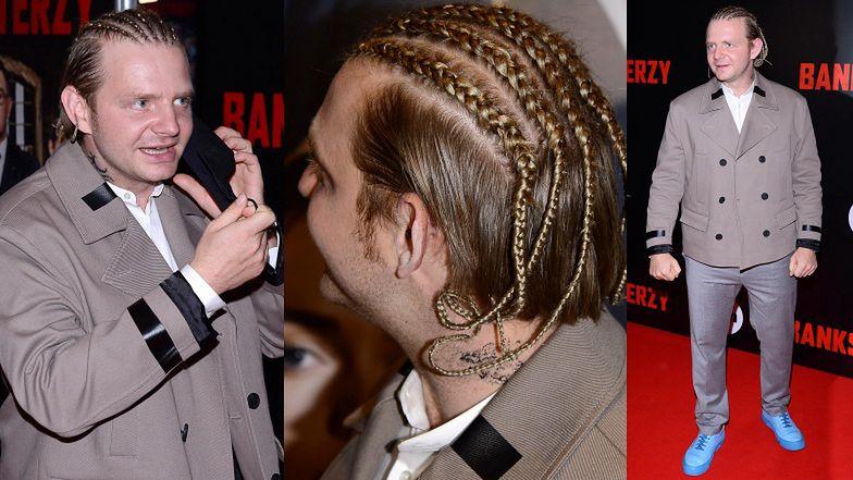 Rafał Zawierucha chce być jak Sean Paul. Ładna fryzura? (ZDJĘCIA)