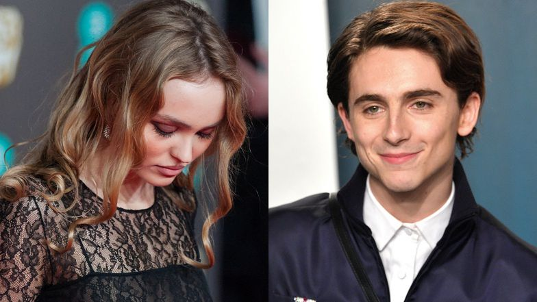 Lily-Rose Depp i Timothee Chalamet ROZSTALI SIĘ!