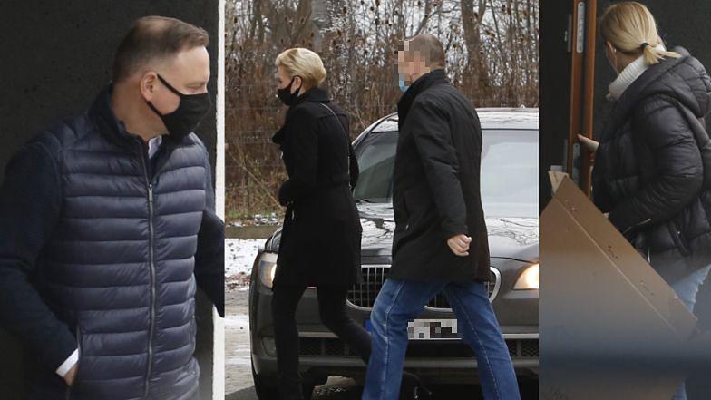 Andrzej Duda z małżonką Agatą WYKAŃCZAJĄ LUKSUSOWY APARTAMENT pod Krakowem