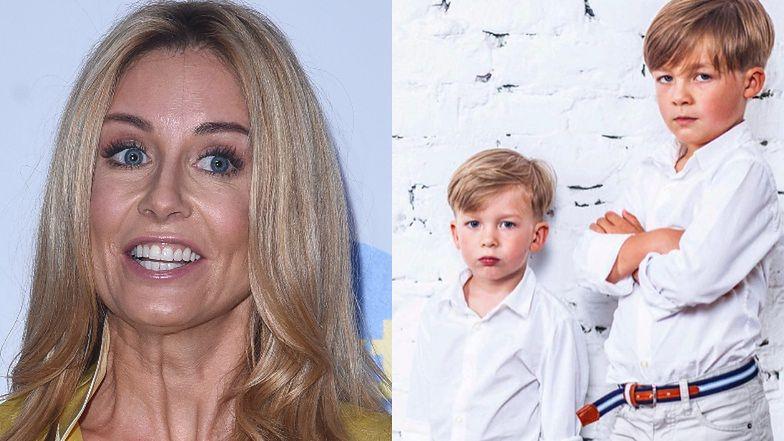 """""""Uwięziona"""" z synami Małgorzata Rozenek ubolewa nad edukacją domową: """"Tyle tego i to razy dwa, I SPRZĘTU ZA MAŁO..."""""""