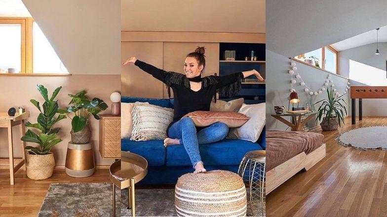 """Ewa Farna pokazała poddasze, które po gruntownym remoncie przekształciła w """"biuro i beauty room"""". Robi wrażenie? (ZDJĘCIA)"""