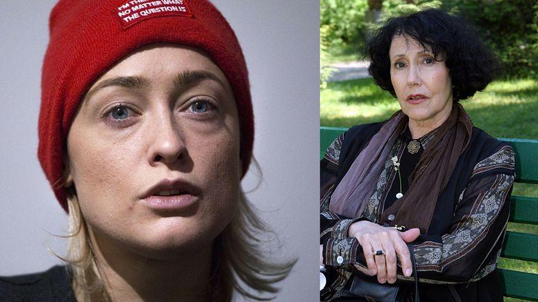 """Matylda Damięcka oburza się, że o zmarłej Hannie Stankównie pisze się w kontekście """"Na Wspólnej"""": """"BRAK TAKTU"""""""