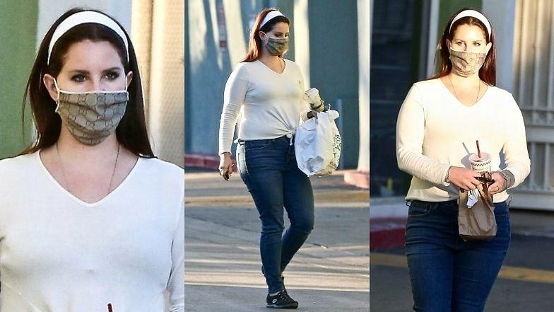"""""""Zwyczajna"""" Lana del Rey odbiera jedzenie na wynos w obliczu kolejnej afery (ZDJĘCIA)"""