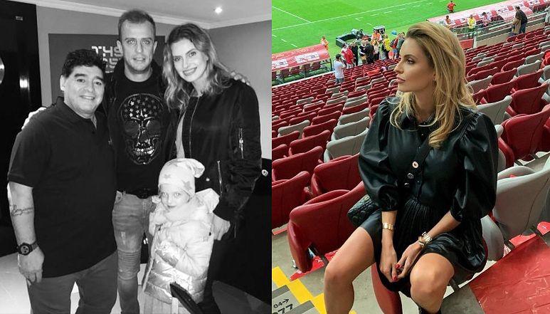 """Dominika Grosicka publikuje zdjęcie z Diego Maradoną: """"To takie smutne"""""""