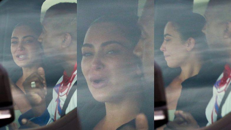Rozhisteryzowana Kim Kardashian WYBUCHA PŁACZEM podczas kłótni z Kanye Westem (ZDJĘCIA)