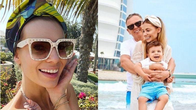 Izabela Janachowska prezentuje rodzinną pocztówkę z Dubaju (ZDJĘCIA)