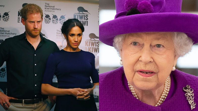 """Pozbawieni honorów Meghan Markle i Harry """"ODPYSKOWUJĄ"""" królowej Elżbiecie: """"Życie w służbie publicznej to rzecz UNIWERSALNA"""""""