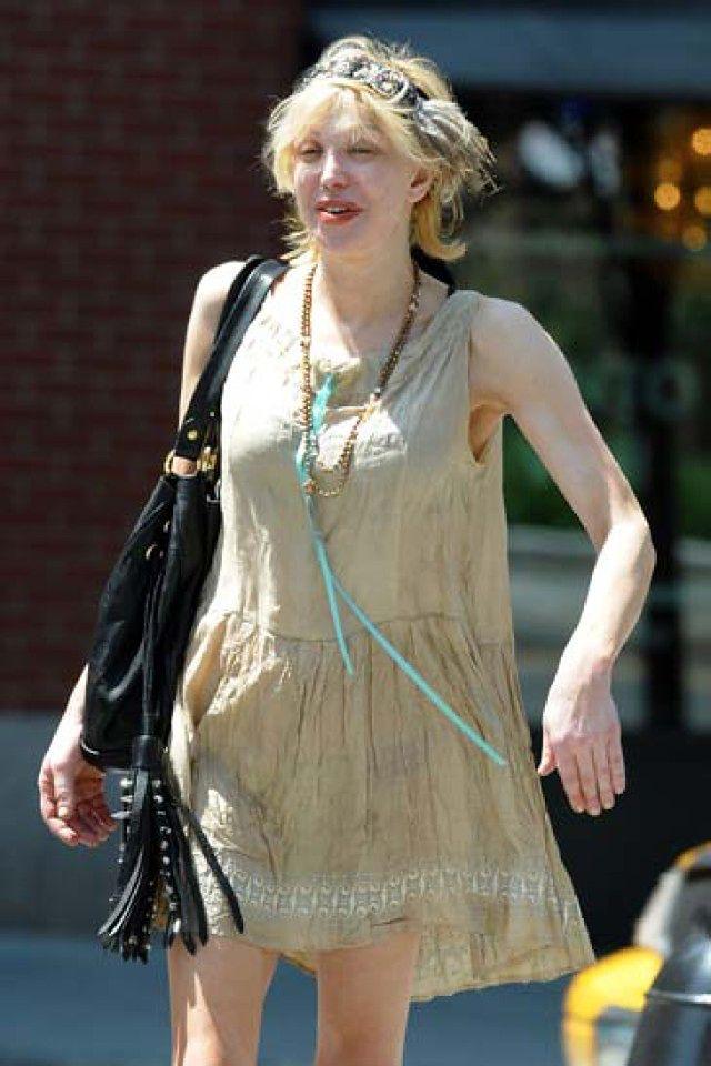 Courtney Love bez makijażu!