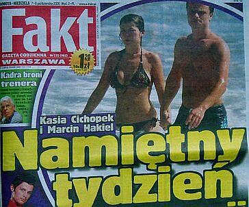 Romantyczne wakacje Kasi Cichopek