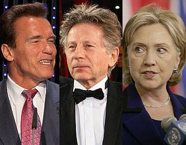 Schwarzenegger i Hillary NIE POMOGĄ Polańskiemu!
